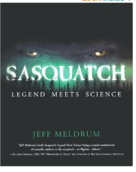 Sasquatch Legend meets Science book
