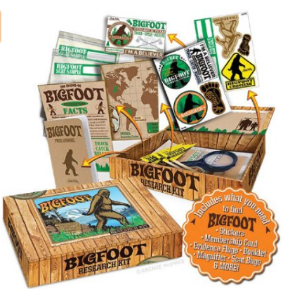 Bigfoot Research Kit for Kids
