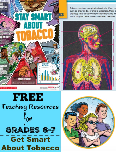 Free Teaching Resources for Tobacco Prevention