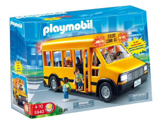 Playmobil School Bus toy