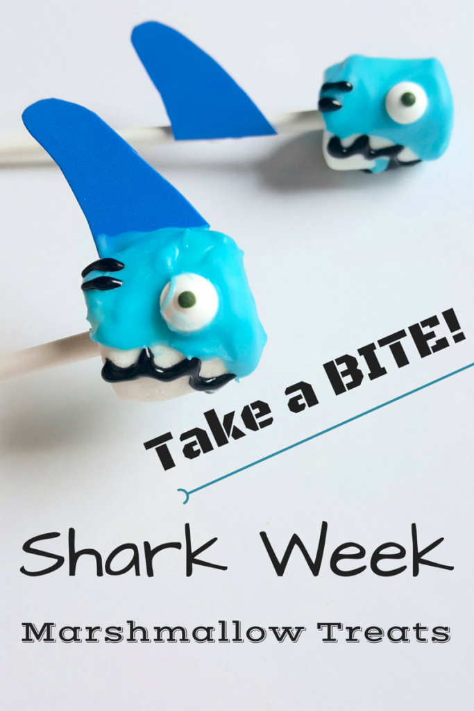 Shark Week Recipe Marshmallow Treats