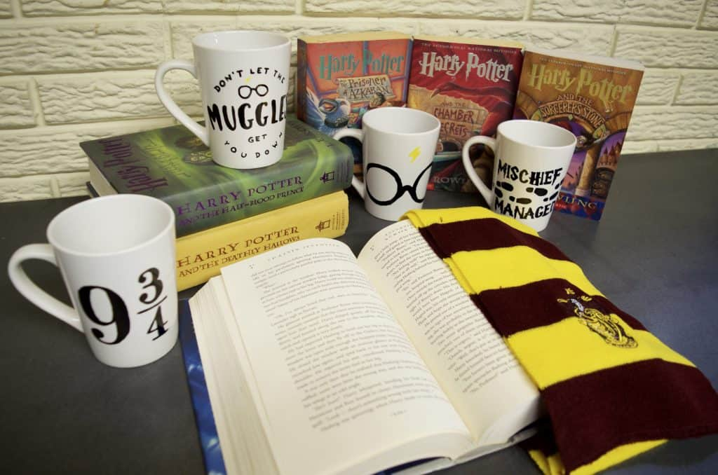 Easy DIY Harry Potter Coffee Mugs