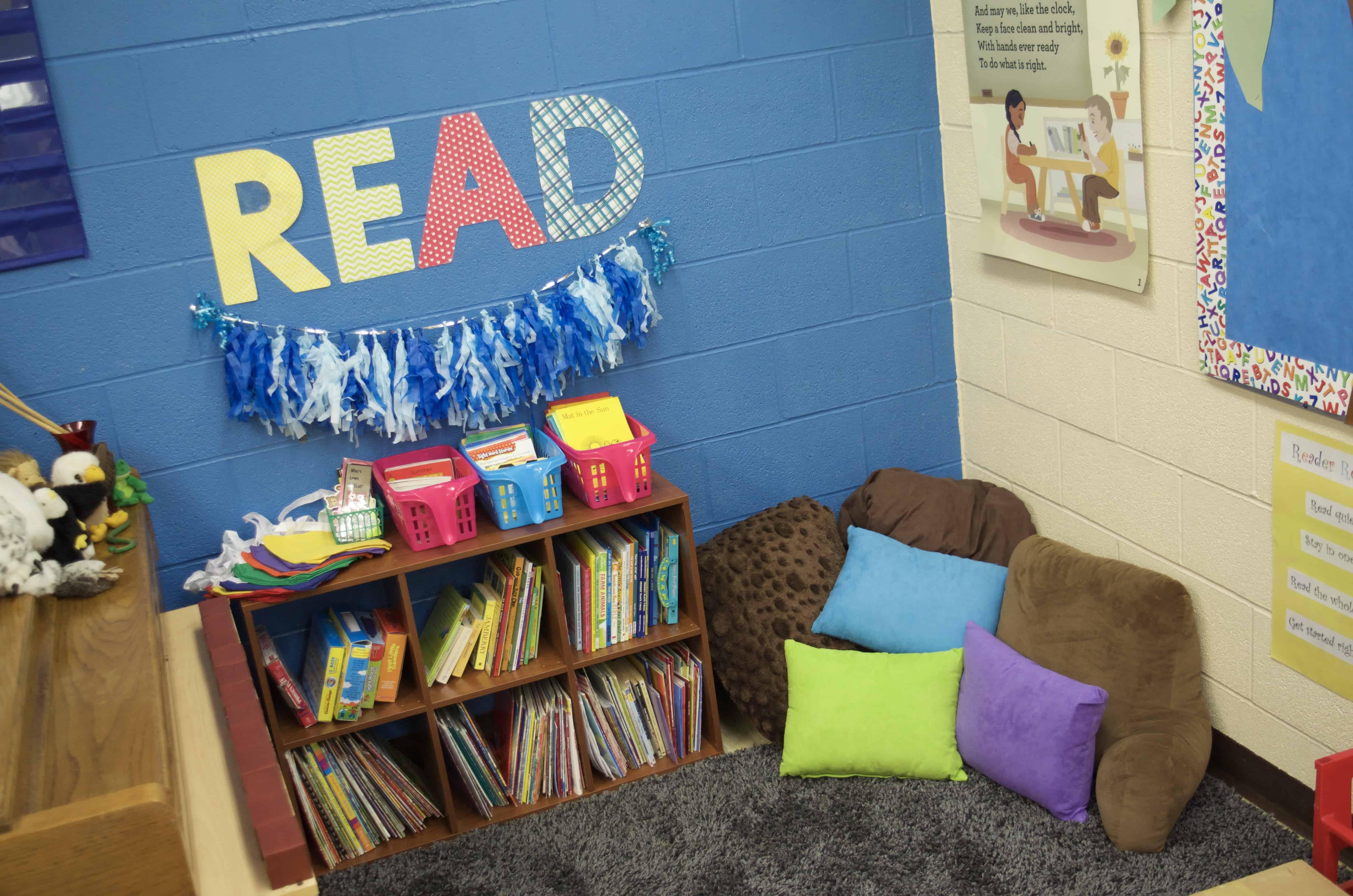 Must Haves For Your Kindergarten Reading Corner