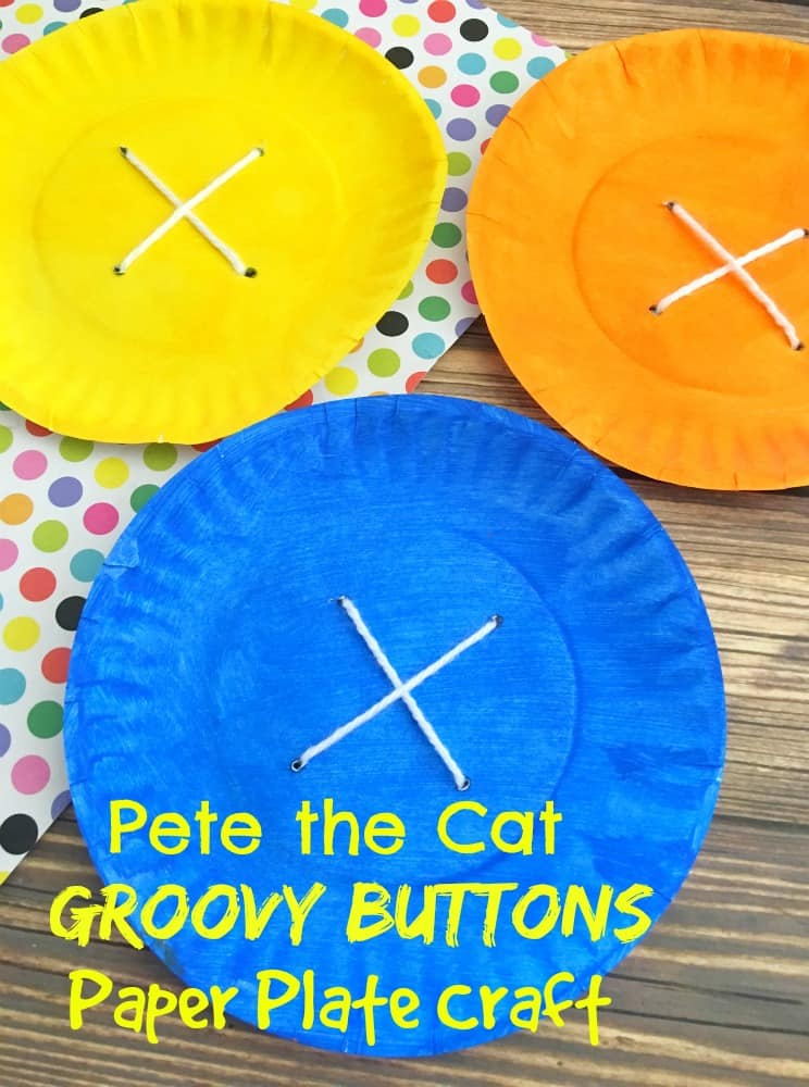 3 button paper plate crafts
