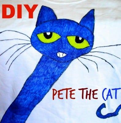 DIY Pete the Cat T-shirt Tutorial
