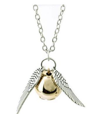 Cheap Harry Potter Golden Snitch Necklace