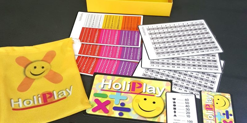 HoliMaths Multiplication Math Game Overview
