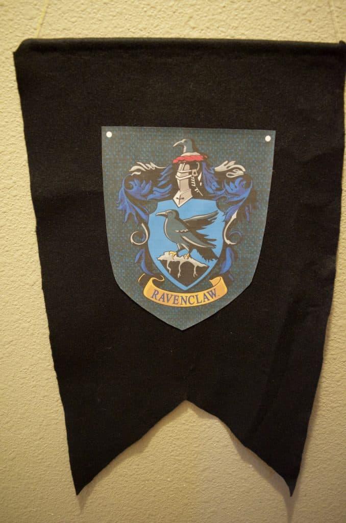 DIY Hogwarts Banner - Ravenclaw