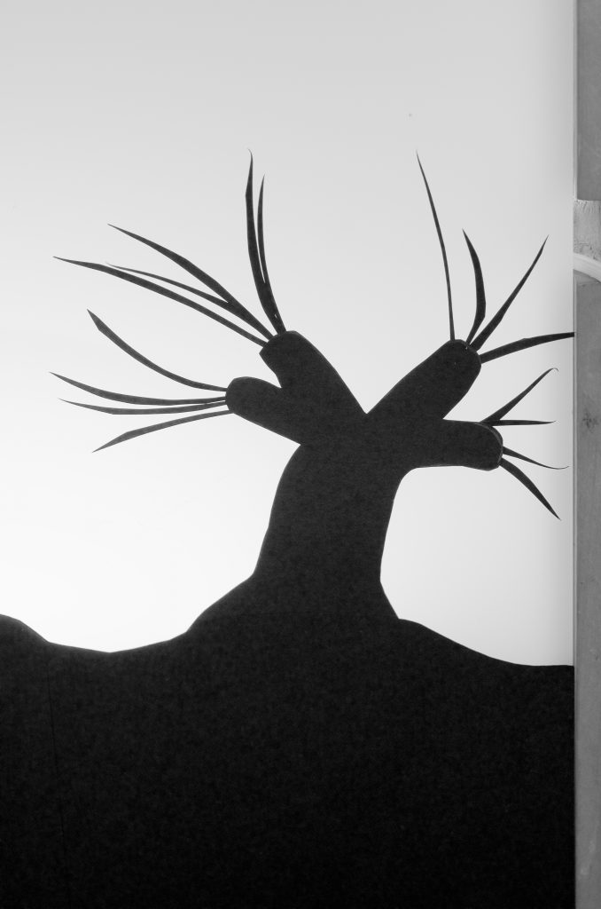 DIY Harry Potter Silhouette Light Box Design Idea