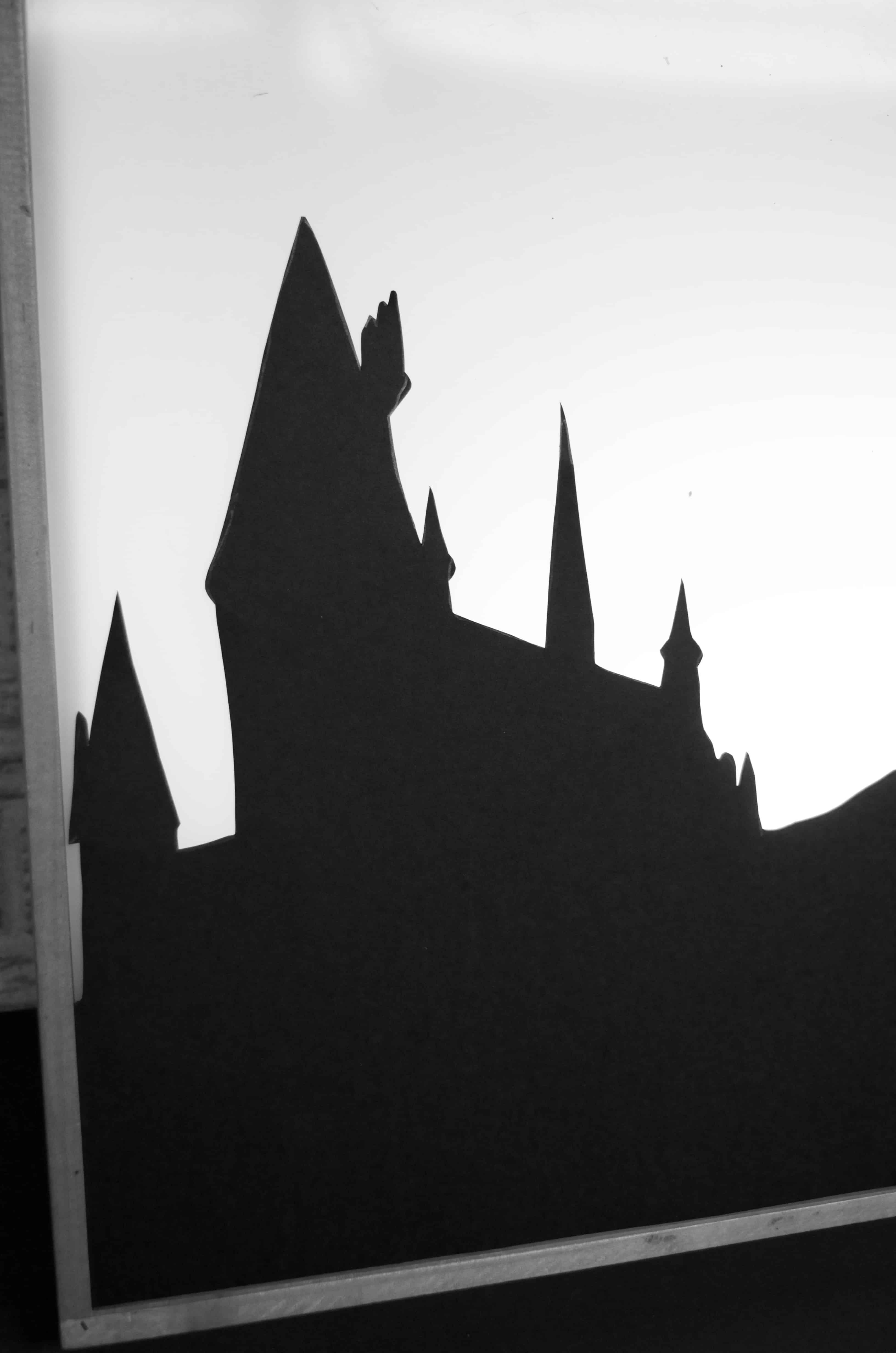 Diy Harry Potter Silhouette Light Box Design Idea