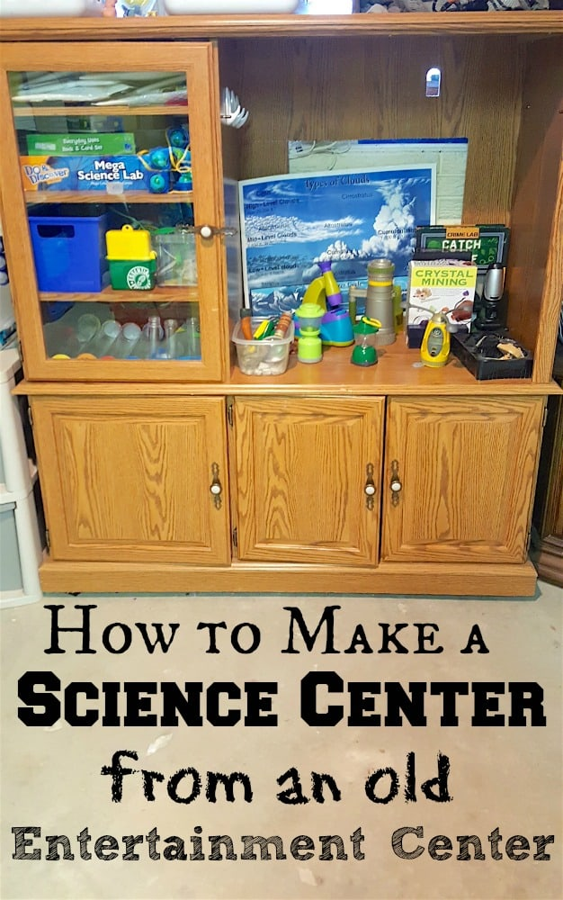 How to Make a Science Center from an Old Entertainment Center