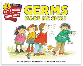 Germs Make Me Science science children's book
