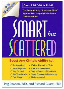 Smart but Scattered book to help boost kid's skills