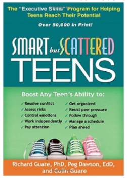 Smart but Scattered Teens book on adhd