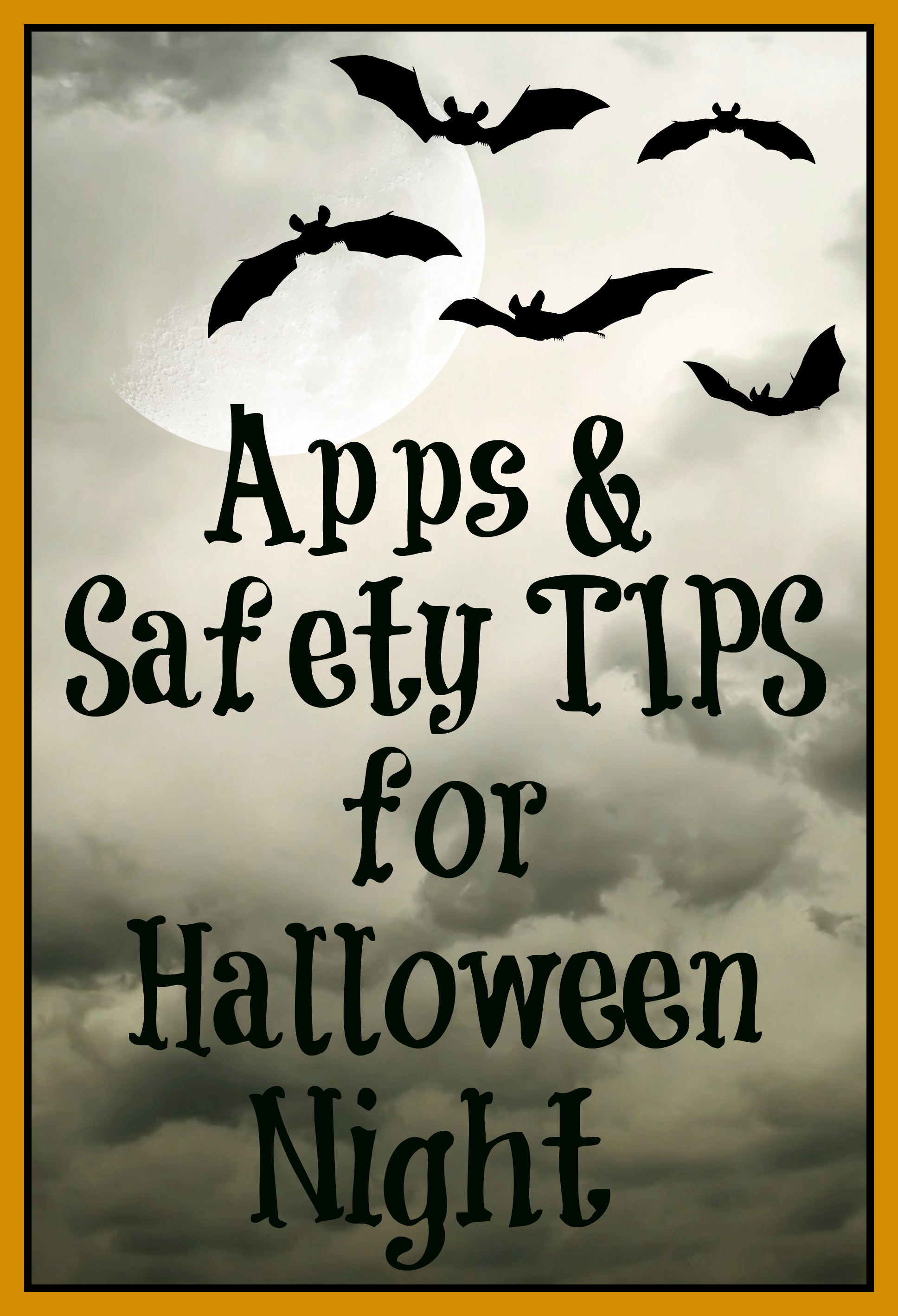 Apps & Safety Tips for Halloween