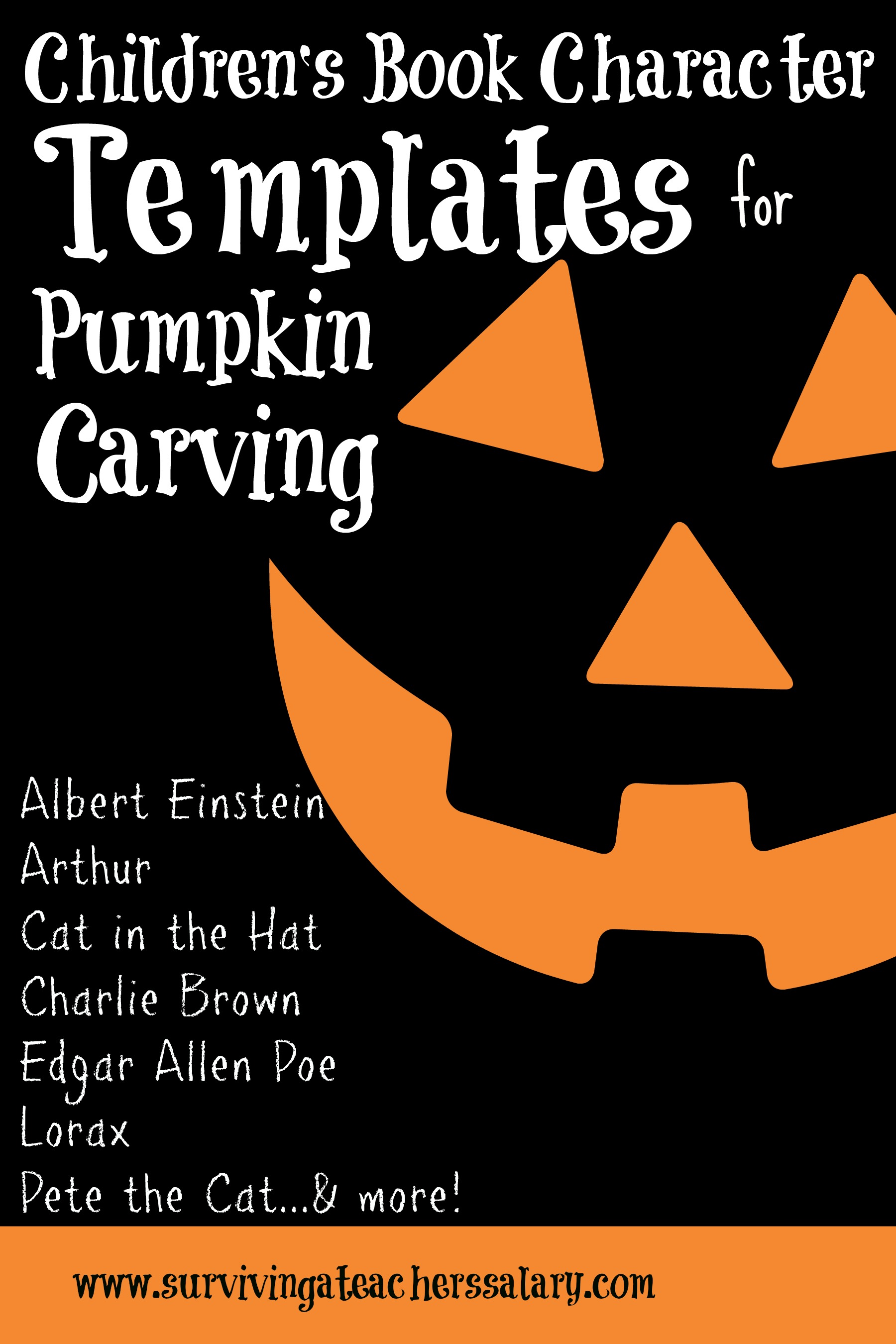 children s book costumes pumpkin carving templates