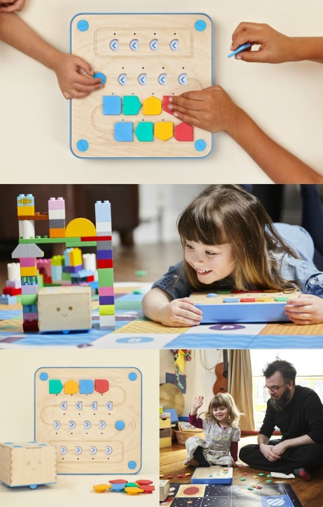 Cubetto STEM Coding Toy for Preschool - Montessori Approved