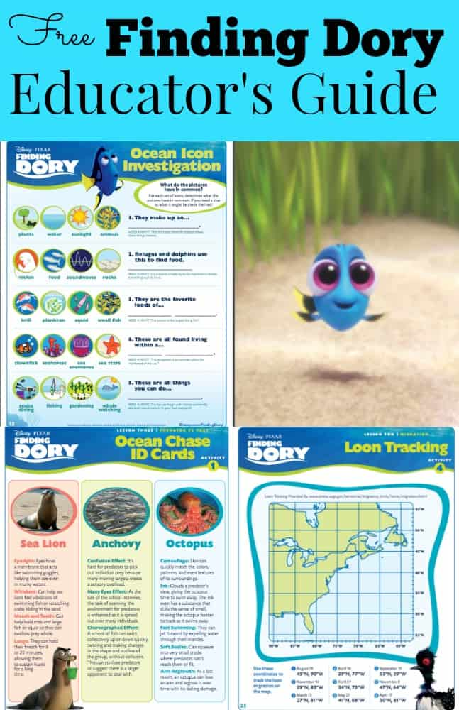 Finding Dory Educators Guide