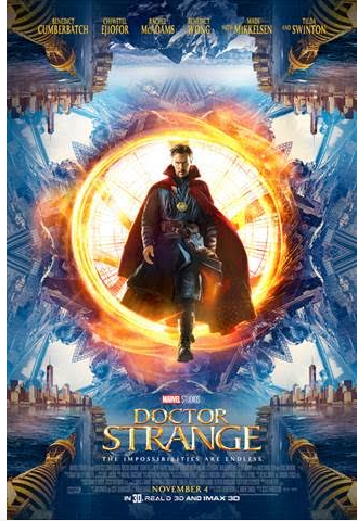Marvel's DOCTOR STRANGE opens in theatres everywhere on November 4th!