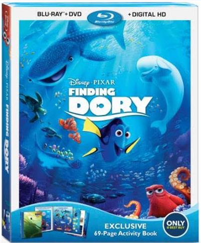 Finding Dory Bluray Disney Pixar