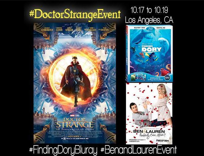 Disney Press Junket Doctor Strange & Finding Dory Event Coverage