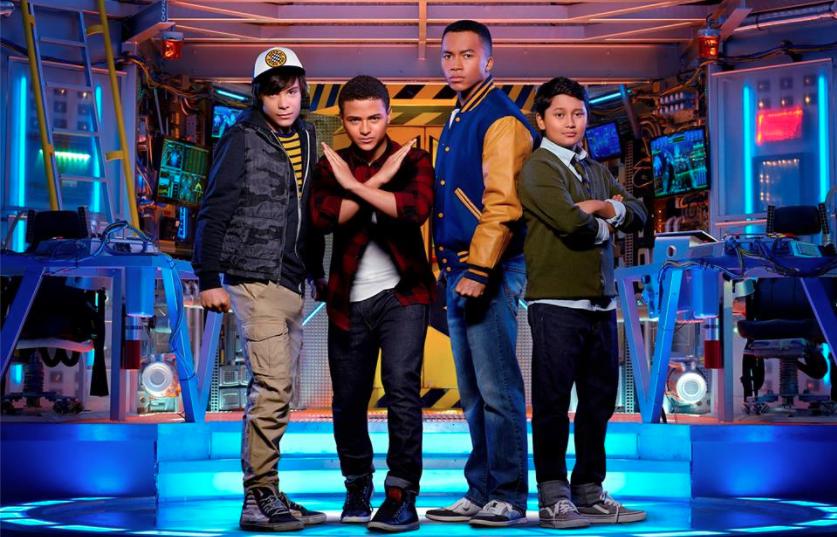 Disney Channel MECH X-4 sci-fi series