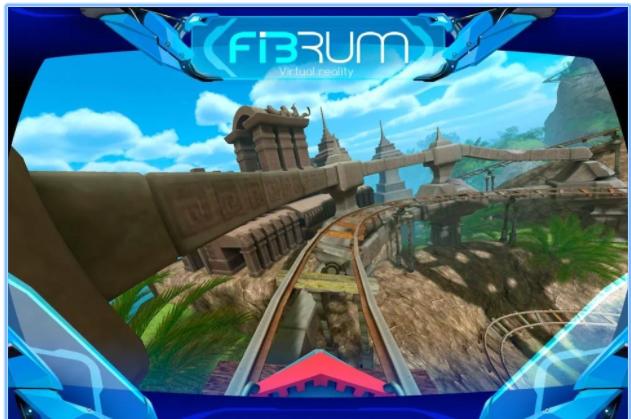 Roller Coaster VR app