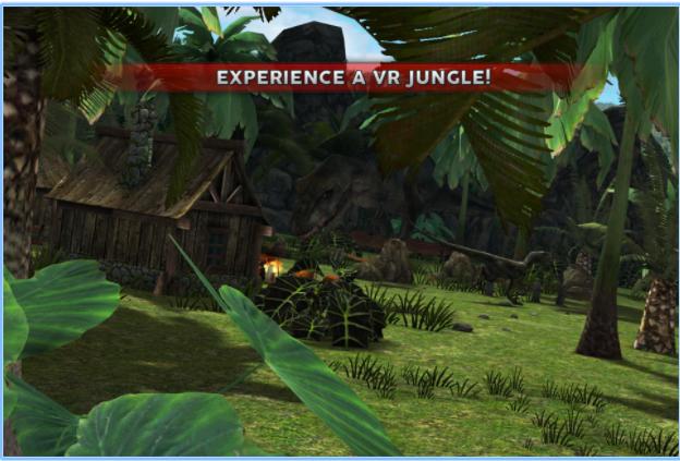 Jurassic VR app