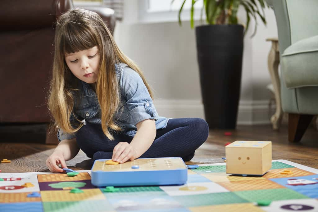 Cubetto, kid's STEM toy, Montessori-approved coding wooden toy
