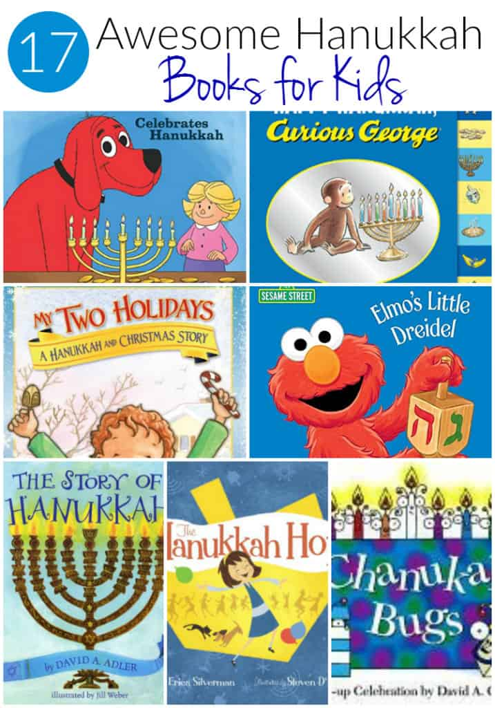 collection of Hanukkah Books for Kids