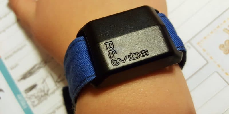 FokusLabs Re-Vibe Wristband for Distracted Students & ADD / ADHD