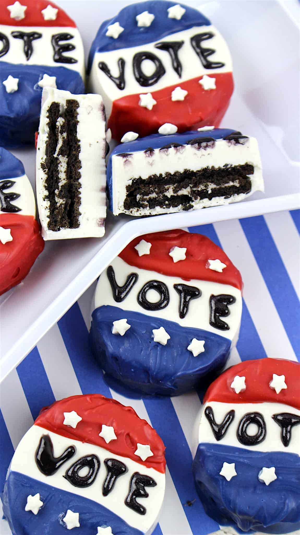 Election with Kids: Kid's Vote Snack Recipe