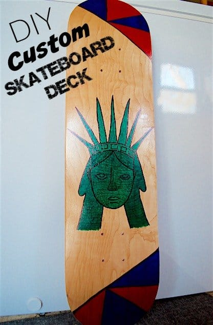 DIY Custom Skateboard Deck