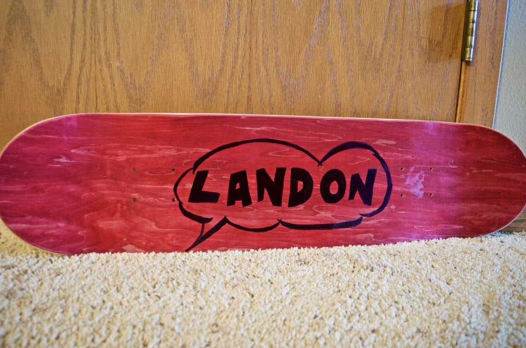 DIY Custom Skateboard Deck