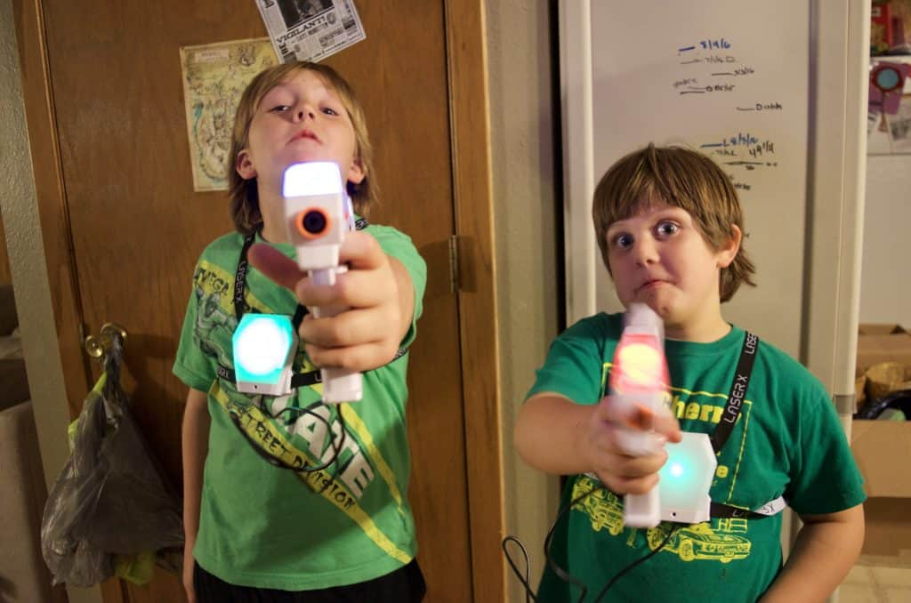 Laser X Laser Tag System Product Review by Kids