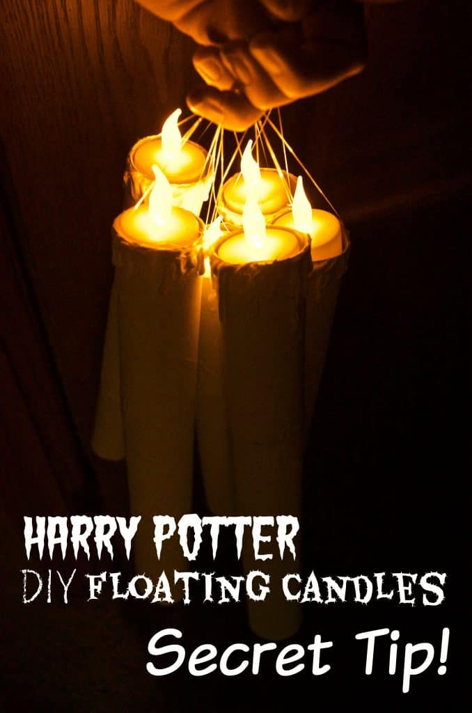 tips for Harry Potter floating Candles Secret