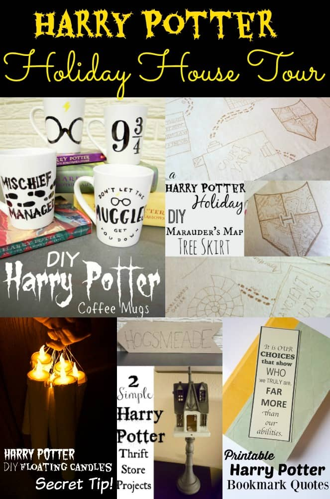 Harry Potter Holiday House Tour