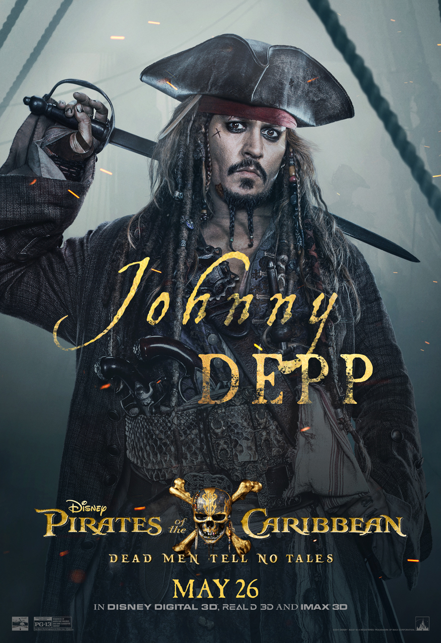 Johnny Depp Pirates of the Caribbean Poster