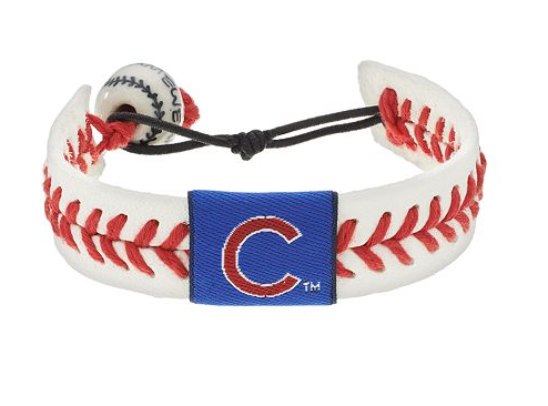 Chicago Cubs Leather Bracelet ...
