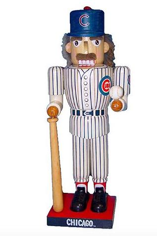 Kurt Adler Chicago Cubs Nutcracker
