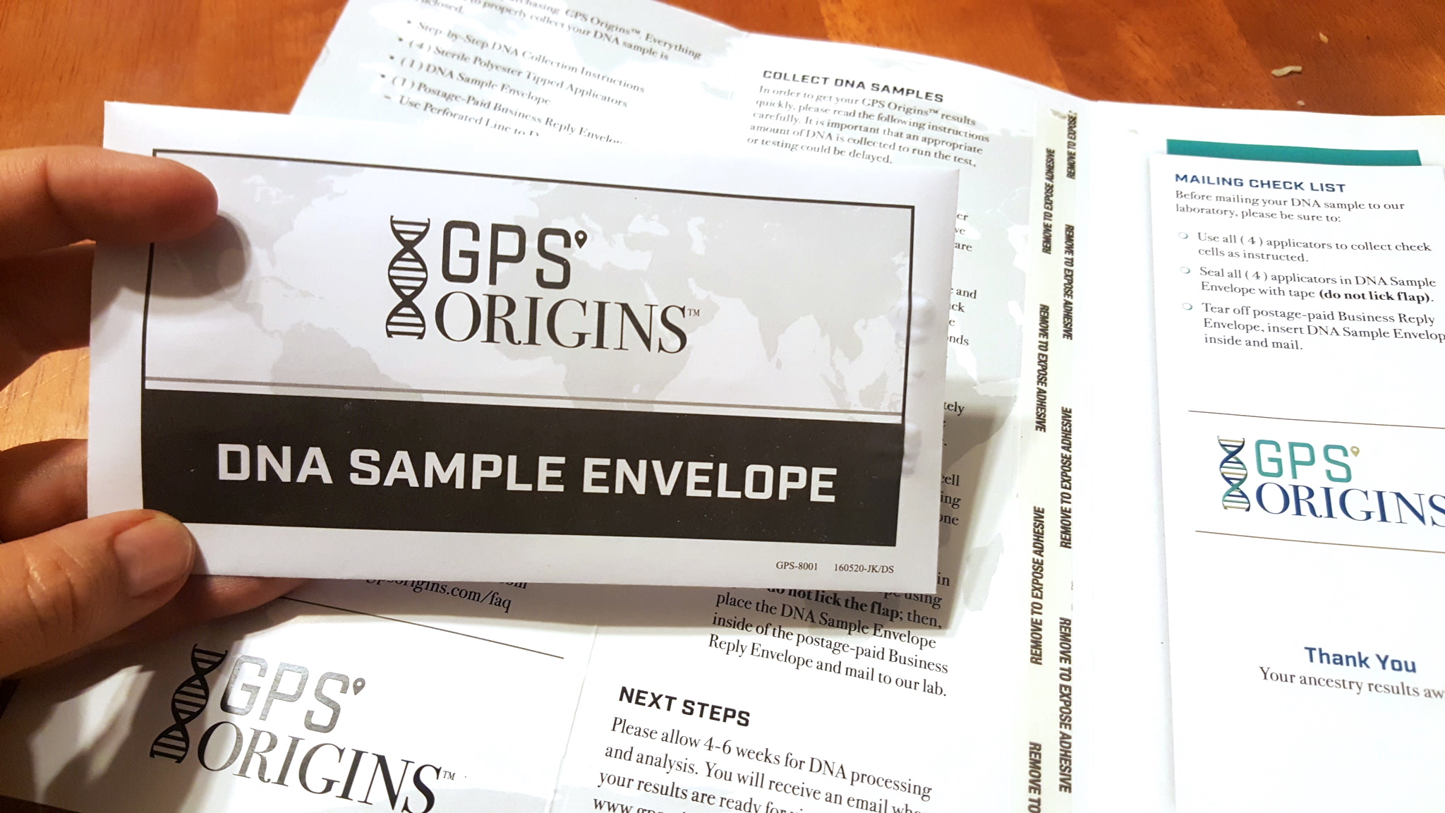 GPS Origins Ancestry DNA