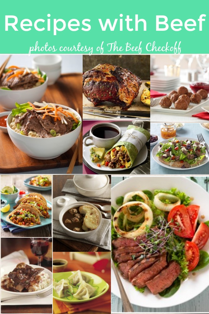 Recipes with Beef It's What's for Dinner meals