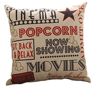 Film Movie themed Pillow Cover Home Decor