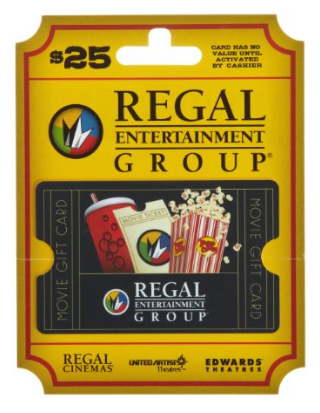 Buy a Regal Entertainment Group Movie Gift Card