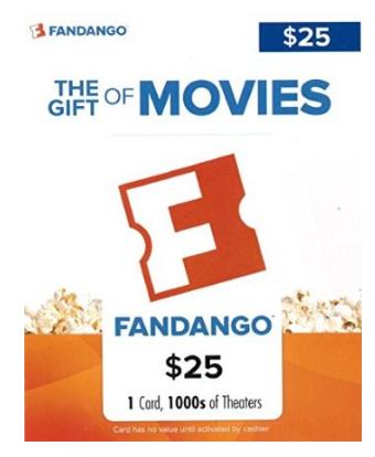 Buy a Fandango Movie Gift Card