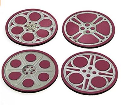 Film Movie Reel Drink Coasters