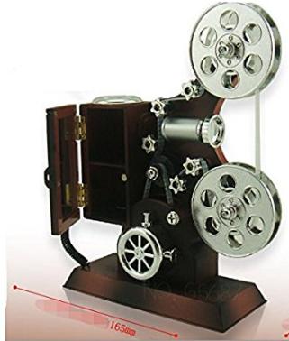Classical Movie Film Reel Jewelry Box