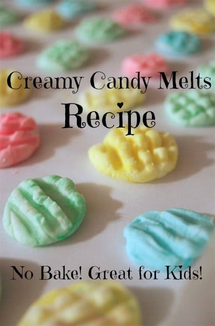 Creamy Candy Melts Recipe No Bake for Kids