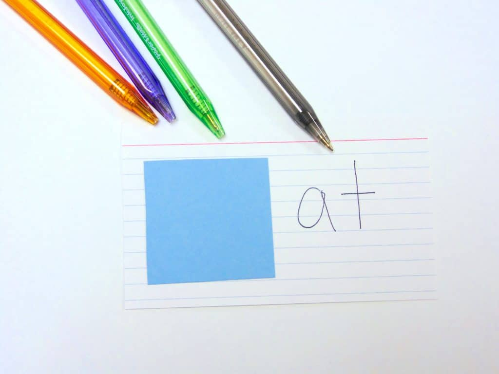 Easy DIY Word Family Booklet for Center Activities