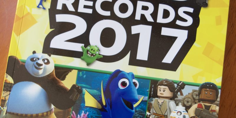 Guinness World Records 2017: BLOCKBUSTERS! Book Review + FREE Math Activity
